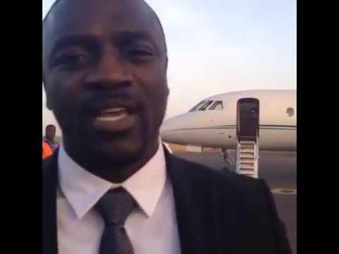 Akon Official akonOn our way to Sierra Leone