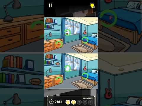 Find the difference - Detective game :Secret Travel level 1-10 solutions