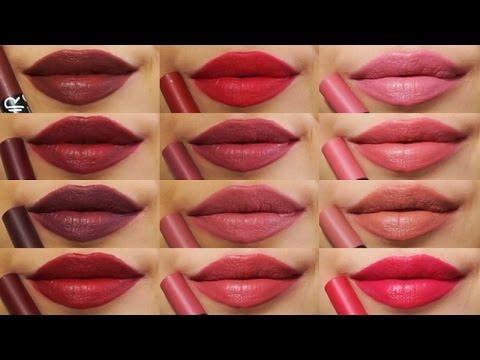 Kolekcja Pomadek Golden Rose Matte Crayon Lipstick 14 Odcieni