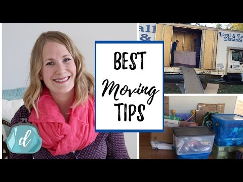 ORGANIZED MOVING TIPS that save money! | New House Ep. 2