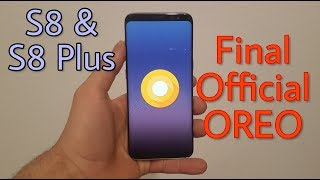 Final Official Oreo 8.0 for Galaxy S8 & S8 Plus [Detailed Review]