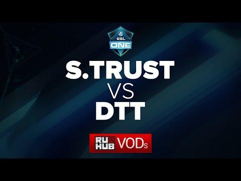 Signature Trust - DTT, ESL One Frankfurt China Qual, game 2
