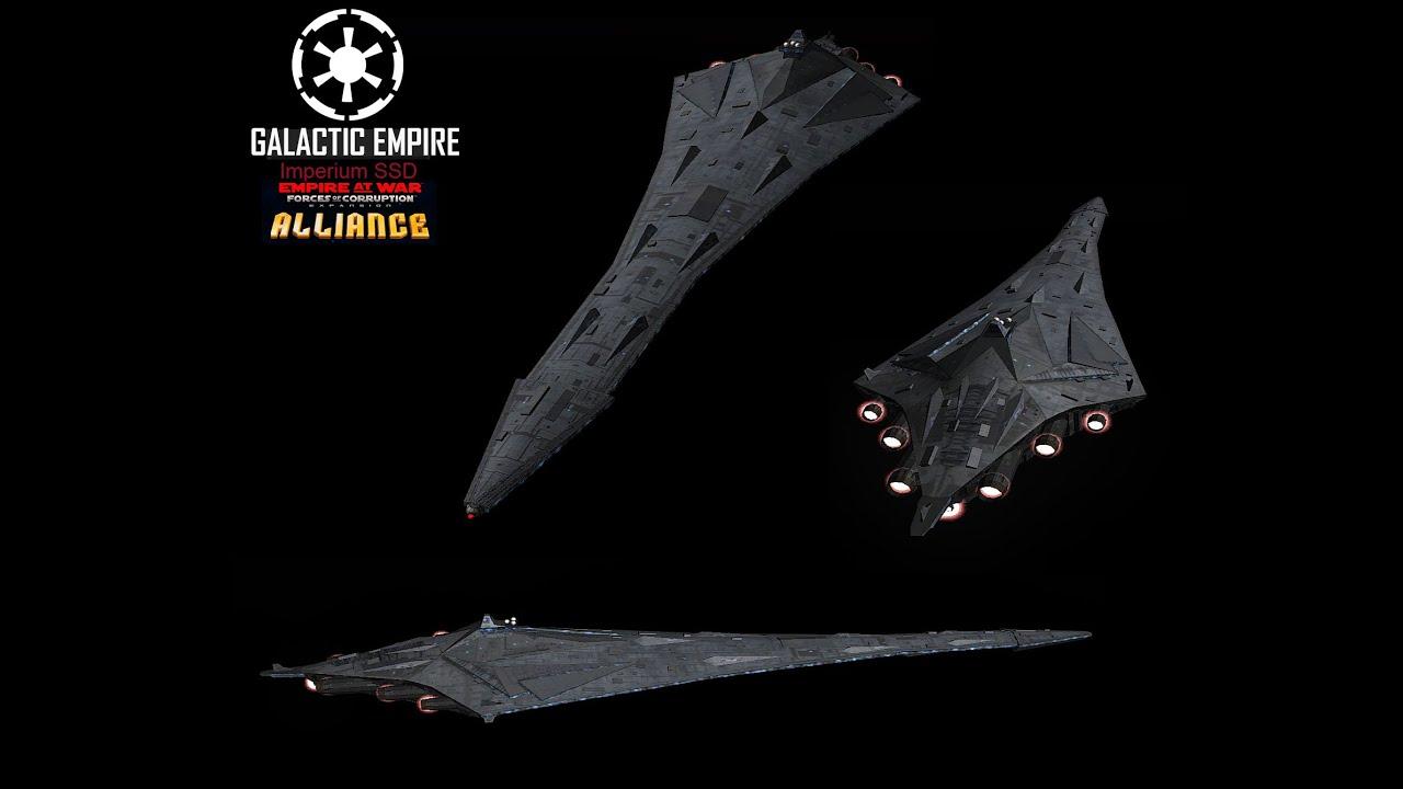 Star Wars Empire at War – FOC Alliance – Imperium SSD