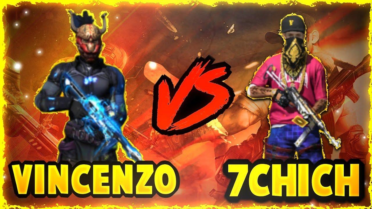 Vincenzo vs 7chich || One Shot Challenge || Clash Squad