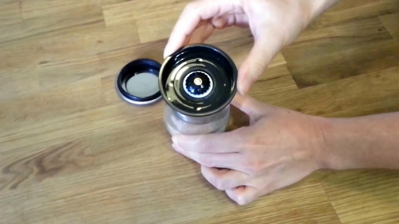 Kitchen-GO Salt & Pepper Grinder Set - Instructions for use