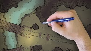 How to Draw Cave Walls (DM