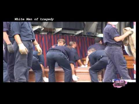 Lampedusa White Man of Tragedy