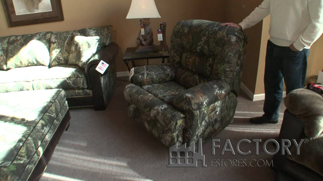 Rose Hill Furniture Mossy Oak Living Room Set   Factorylivingrooms.com    YouTube