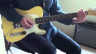 Guitar Lesson:  Easy George Thorogood Licks (Without a Slide)