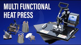Photo USA-How to use 8in1 multi functional heat press machine?
