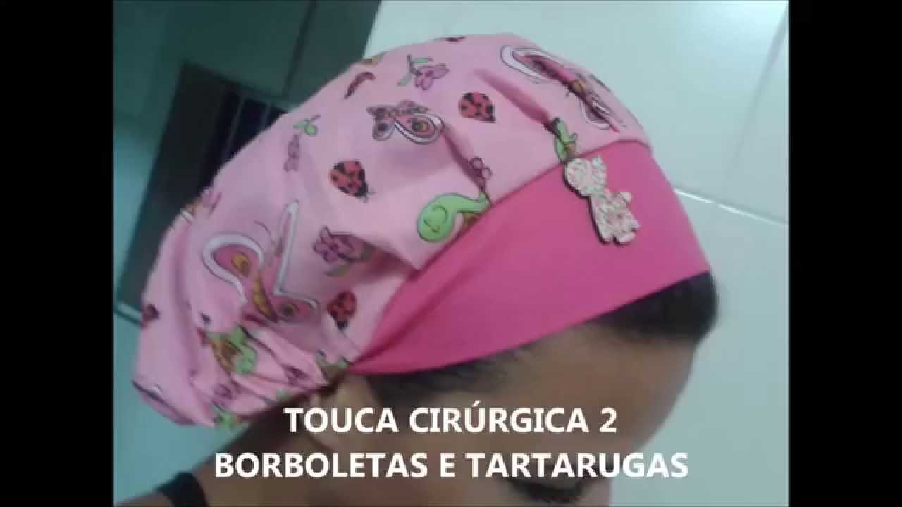 TOUCA CIRÚRGICA - YouTube d6cefbb2da1