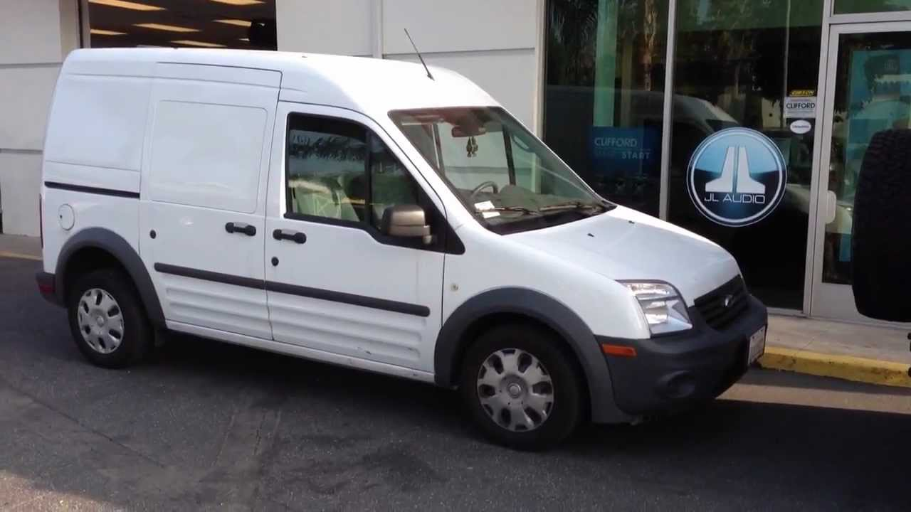 2018 Ford Transit Connect Sliding Door Lock Removal