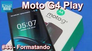 Lenovo Moto G4 Play - Formatando - Restauração de fábrica thumbnail
