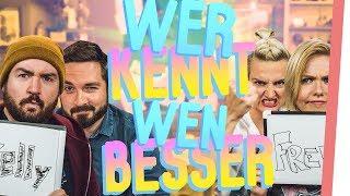 Wie GUT kennen sich Kelly & Sturmwaffel WIRKLICH? feat. DSDN!