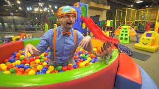 One of Blippi's most viewed videos: Blippi Learns at the Indoor Playground | Educational Videos for Toddlers