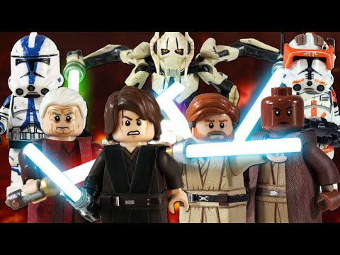 Custom LEGO Star Wars: Revenge Of The Sith Minifigures