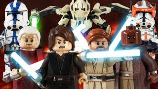 Custom LEGO Star Wars: Revenge of the Sith Minifigures