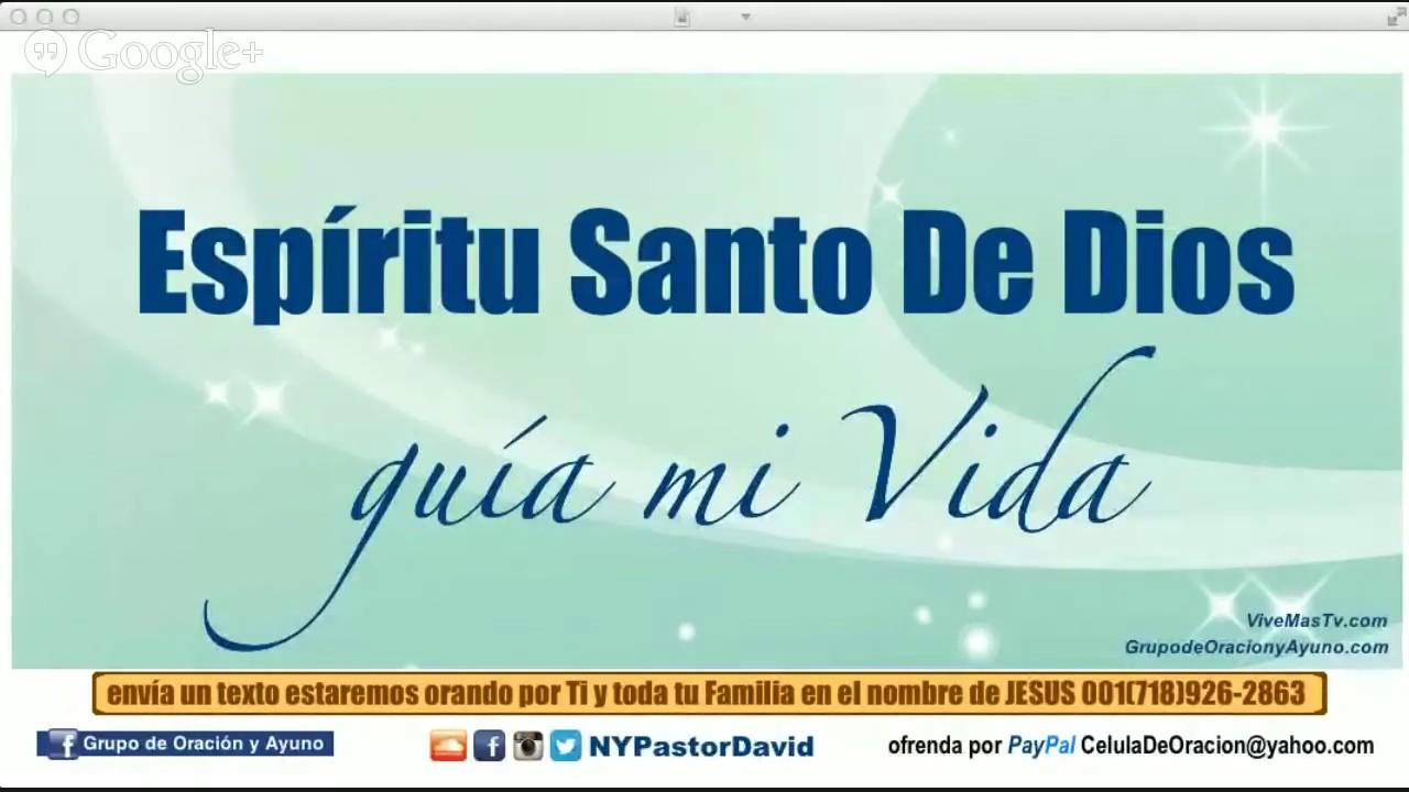Buenos Días Espiritu Santo Oraciones De Fortalecimiento Espiritual