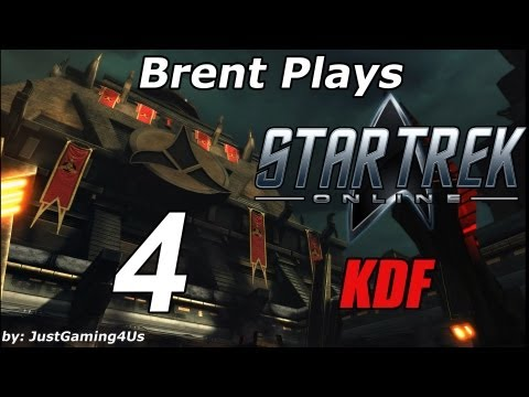 Let's Play Star Trek Online - [KDF] - [Part 4] [Mission Talk and New Character to Level]
