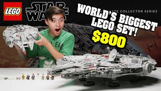 BIGGEST LEGO SET IN THE WORLD!…