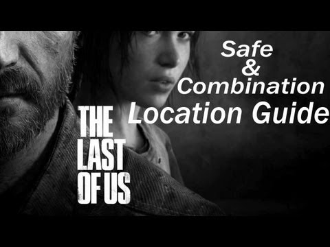 The Last Of Us - Safe And Combination Locations Guide