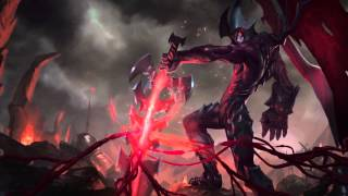 Aatrox - (Dreamscene HD) (wallpaper animated) (Login screen + Music)
