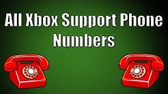 All Xbox customer service phone numbers (All countries)