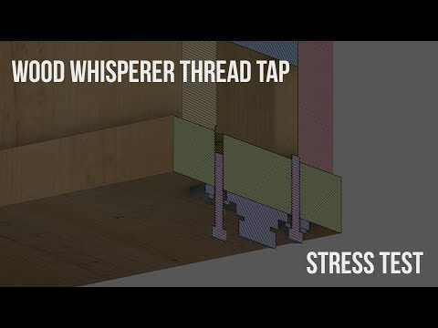Cranebow Build: Attaching the Casters with Wood Thread Taps