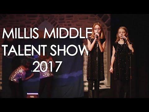 Millis Middle School Talent Show 2018