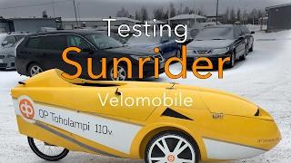 Testing Sunrider Alleweder A9 velomobile