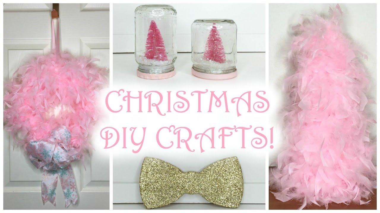 CHRISTMAS DIY CRAFTS 2015! ♡ PART 1 ♡ PINKEST CHRISTMAS ...