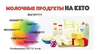 МОЛОЧНЫЕ ПРОДУКТЫ На КЕТО | Кето Диета | Dairy On Keto | What to Eat?
