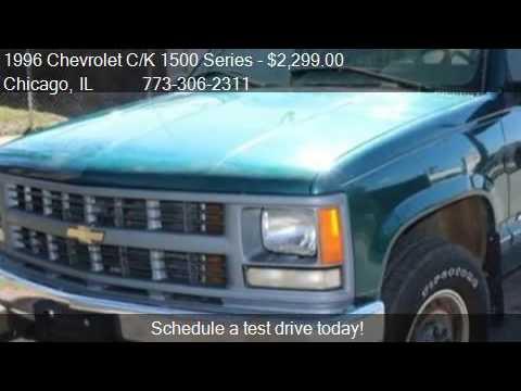 1996 Chevrolet C K 1500 Series K1500 Wt 2dr 4wd Standard Cab