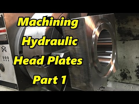 Machining Hydraulic Cylinder Head Plates Part 1