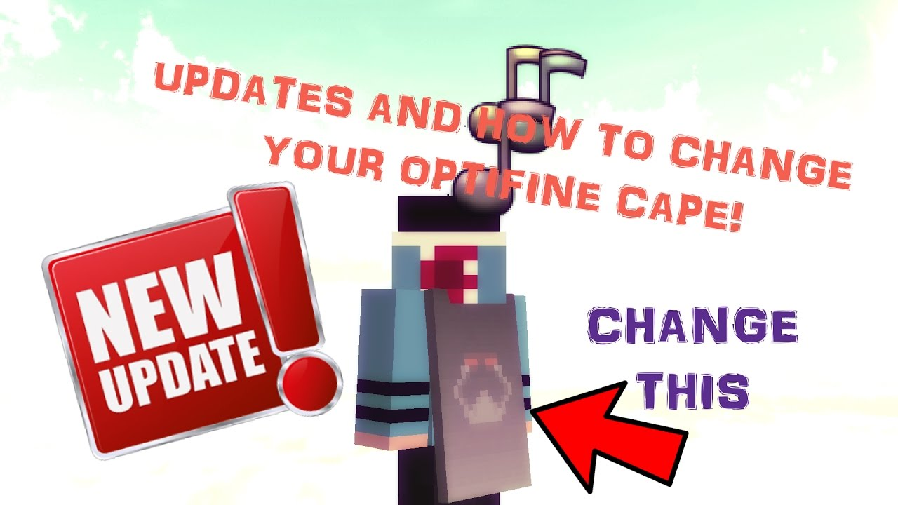 minecraft how to get a optifine cape