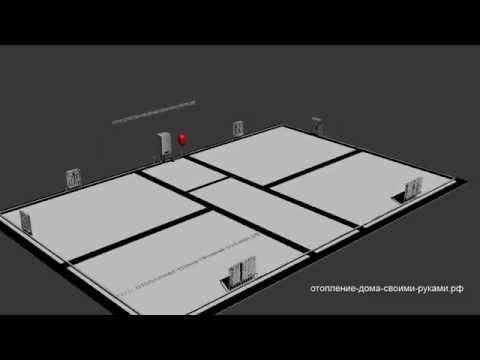 видео: Как работает система отопления загородного дома