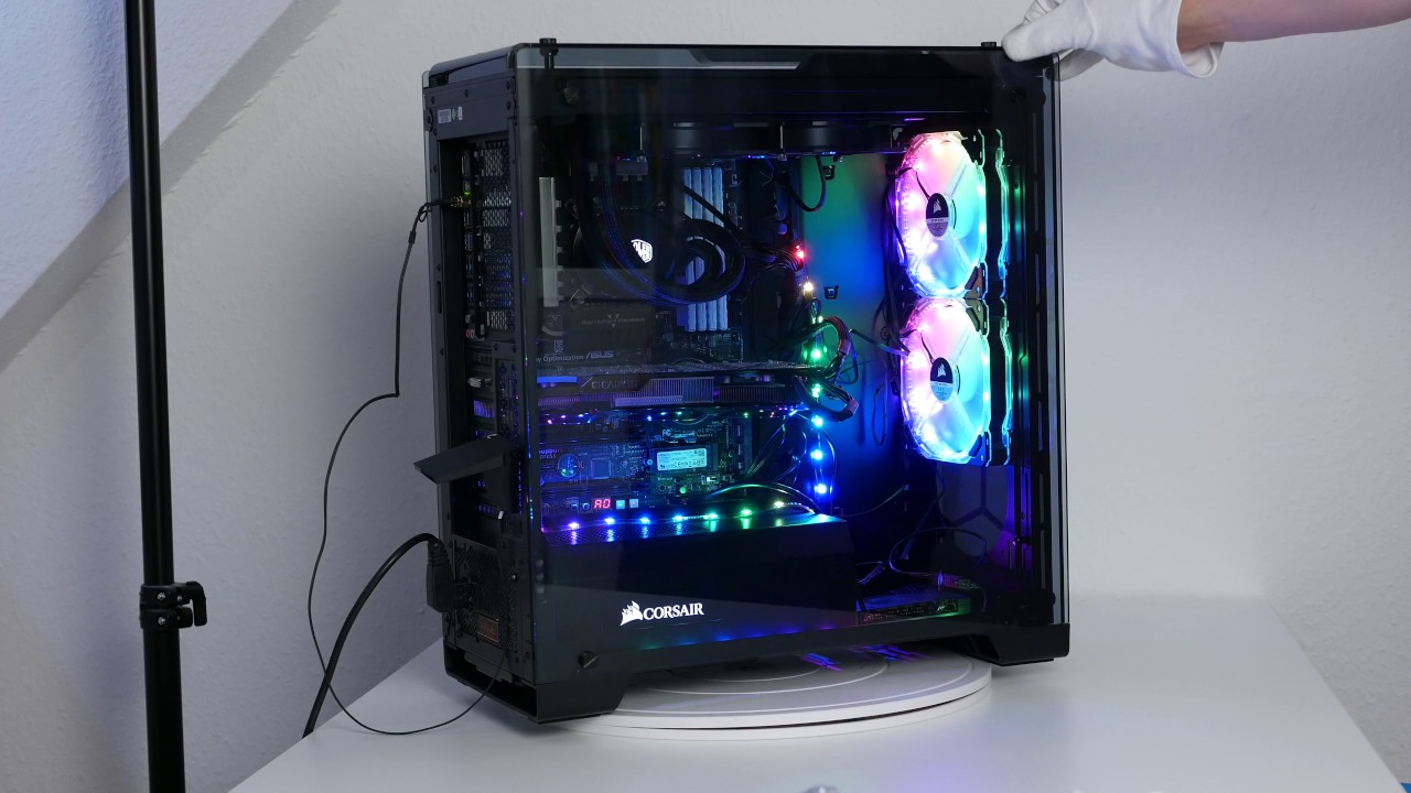 Corsair Commander Pro Lighting Node Pro Und Hd140 Rgb Led