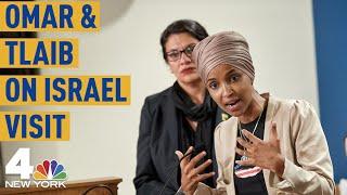 Reps. Ilhan Omar, Rashida Tlaib Call Out 'Cruel Reality' of Israeli Occupation | NBC New York