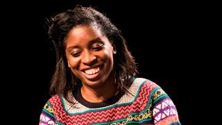 Irenosen Okojie reading and in conversation at #BritLitBerlin 2017