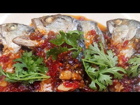 ปลาทูราดพริก 3 รส อร่อยง่ายๆ สอนทำอาหาร by แม่โอ๋