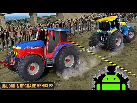 Pull Match: Tractor Games - Android Gameplay