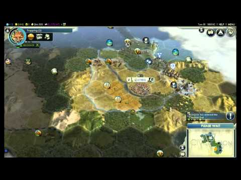 Let's Play Civ 5 - Greece One City Challenge - Part 2