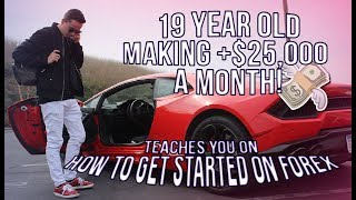 How to get started in forex trading - Make $100 a day (Make Money Online)