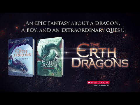 The Erth Dragons: Dark Wyng By Chris D'Lacey | Official Book Trailer