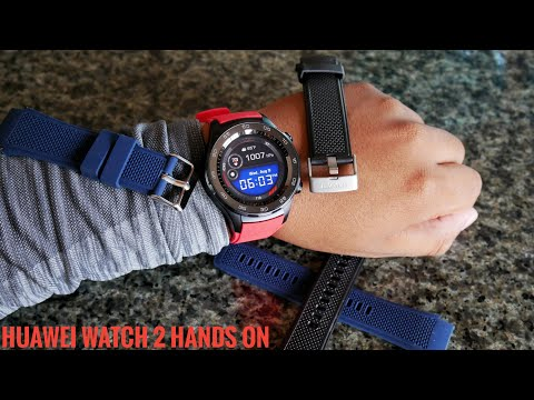 Huawei Watch 2 Hands on Review | The greatest android smartwatch yet