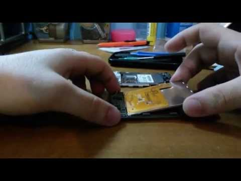 Samsung Galaxy Y S5360 display replacement