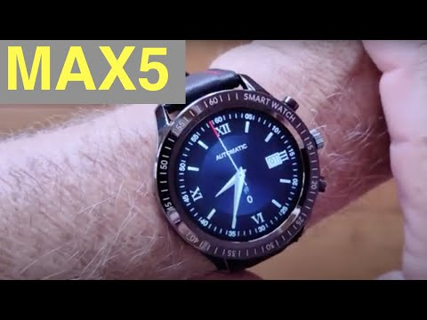 Download SENBONO MAX5 IP67 Waterproof Blood Pressure New UI Fashion Fitness Smartwatch: Unboxing and 1st Look