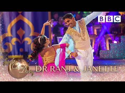 Dr Ranj Singh & Janette Manrara Quickstep to 'Prince Ali' - BBC Strictly 2018