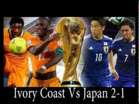Ivory Coast Vs Japan 2 - 1 (Brazil 2014 World Cup Group Stages) highlight Goals