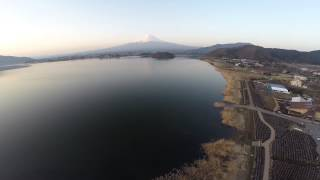 空撮 / 河口湖 富士山 DJI Phantom2 with GoPro